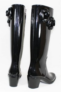 knee high boots rain boots