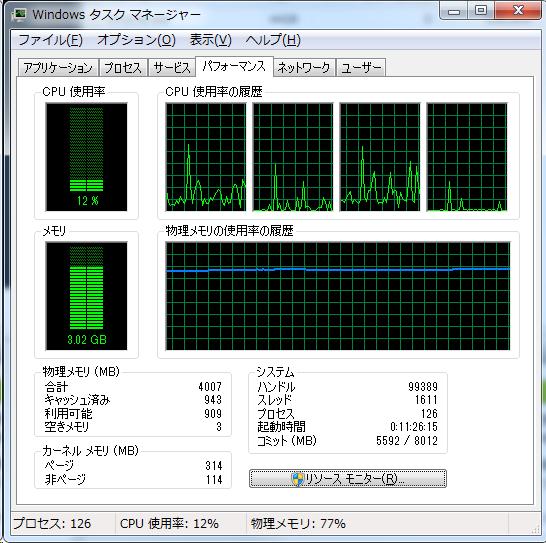Prime_4GB_タスクマネージャ
