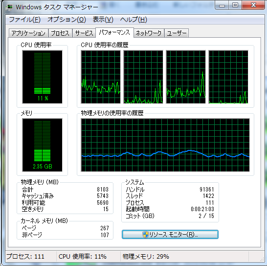 Prime_SSD_タスクマネージャ