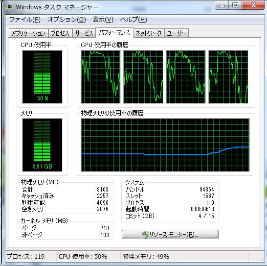 Prime_8GB_タスクマネージャ